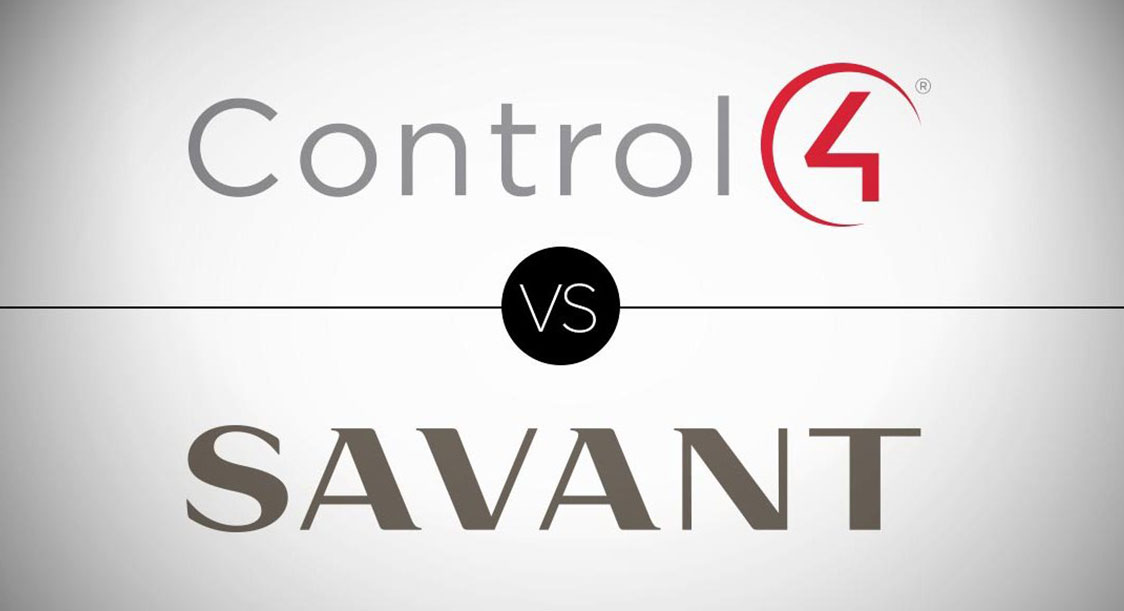 Control4 and Savant